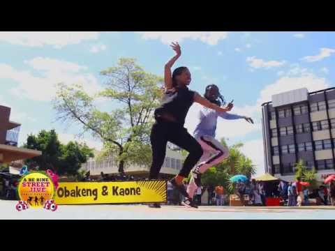 2015 Streetjive Gaborone Auditions Top  3-  Groups Kaone & Obakeng