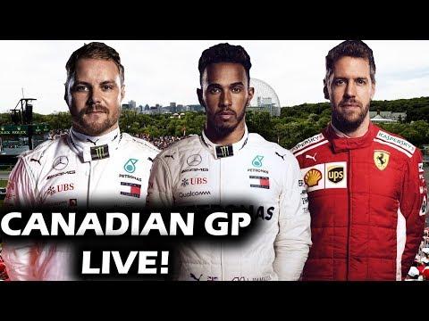 2019 Canadian Grand Prix Race Watchalong
