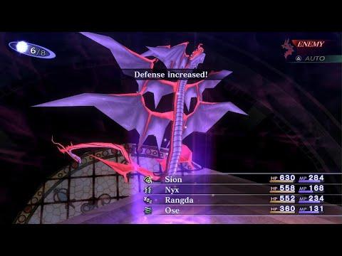 Shin Megami Tensei III Nocturne HD Remaster Boss Fight Sameal |