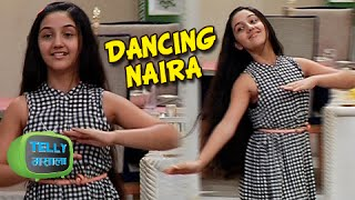 Naira Rehearses for Dance Competition in Ye Rishta Kya Kehlata Hai