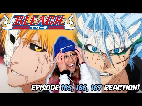 ICHIGO VS GRIMMJOW FULL POWER! Bleach Episode 165, 166, 167 REACTION!