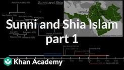 Sunni and Shia Islam part 1 | World History | Khan Academy