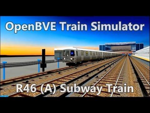OpenBVE ►R46 | (A) Subway Train!◀