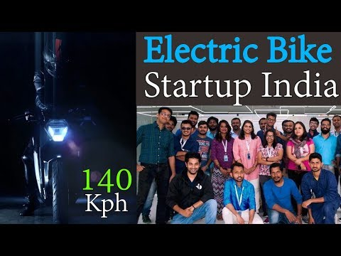Electric Motorcycle Startup Story India - Ultraviolette F77