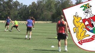 Portugal 2015: Bristol City Training At The Hotel Base