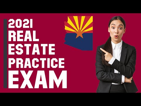 Arizona Real Estate Exam 2021 (60 Questions with Explained Answers)