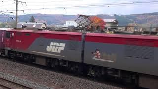 【JR貨】EH500-36牽引 高速貨物 6092レ (FHD)