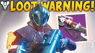Destiny 2: DELETING LOOT WARNING & REDRIX DRAMA! Cayde Quest Glitch, Currency Removed & Next Update