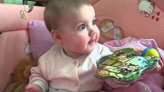 видео ЧТО УМЕЕТ РЕБЕНОК В 6 МЕСЯЦЕВ. Календарь развития малыша