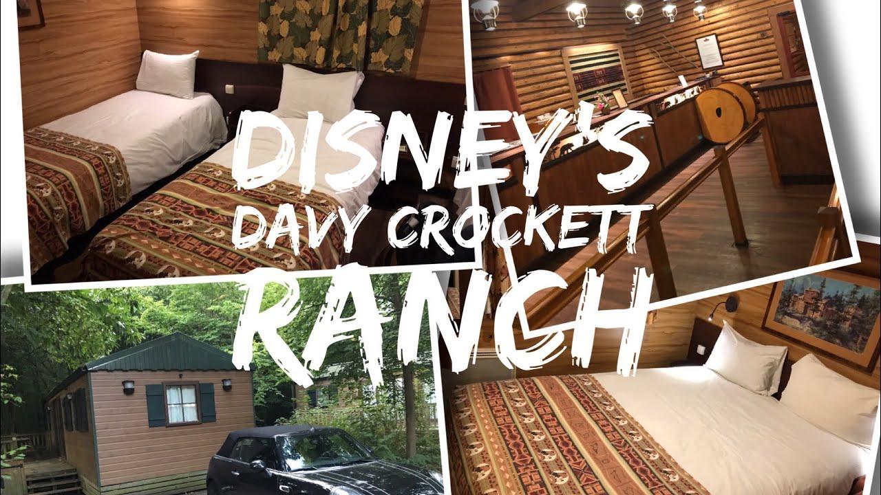 Disney S Davy Crockett Ranch Disneyland Paris Pioneer Cabin Tour