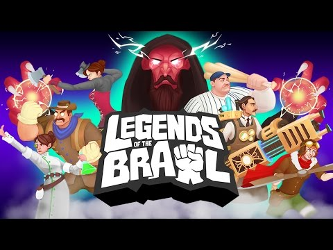 Legends of the Brawl gameplay trailer (pre-alpha footage)