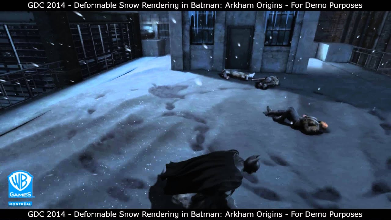 ArtStation - Andrea Riccardi - Deformable Snow Shader System
