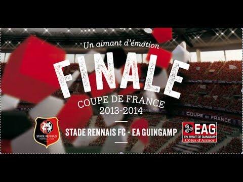 Rennes - Guingamp 03 Mai 2014 (INTEGRAL: Finale Coupe de France 2014) Vidéo Rediffusion Match Foot