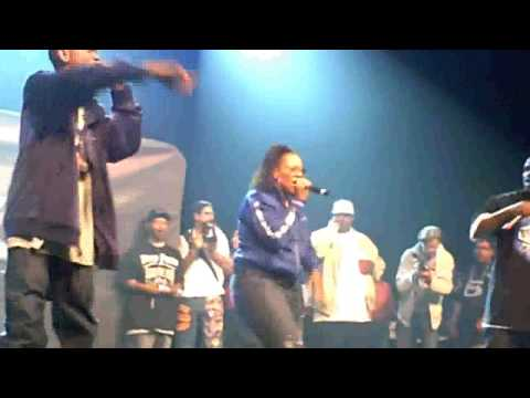 Lady Of Rage - Lyrical Gangbang (Live @Paid Dues 2010)