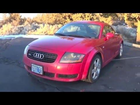 Audi TT Quattro Review - 1st Generation (2000-2006)