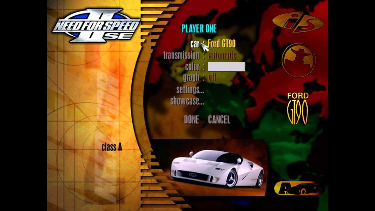 need for speed 2 se iso ps1 download