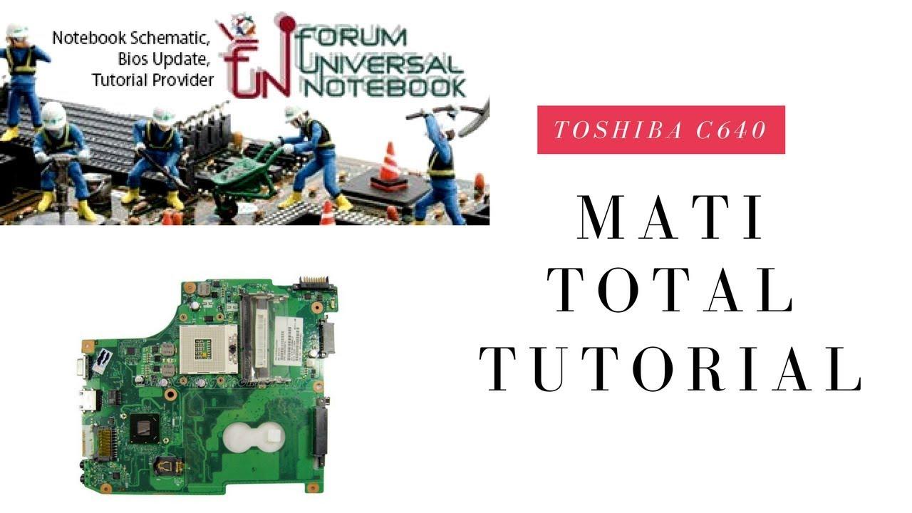Cara Memperbaiki Toshiba C640 Mati Total No Power