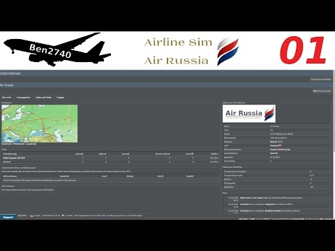 Let´s Play Airline Sim: Air Russia #01