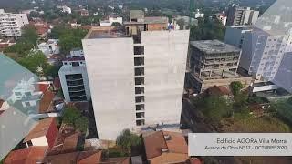 Avance de Obra - Edificio AGORA Villa Morra, Octubre 2020
