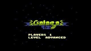 Galaga - Atari 7800 - No Commentary [Gameplay] [Retro Arcade] [#12]