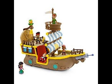Jake et les pirates du pays imaginaire jouet pour enfants - Bateau jack et les pirates ...