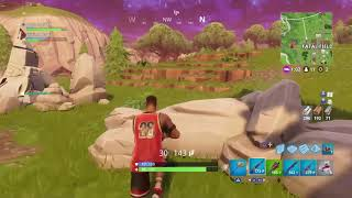 Geting a win in fortnite with Jd Anderson