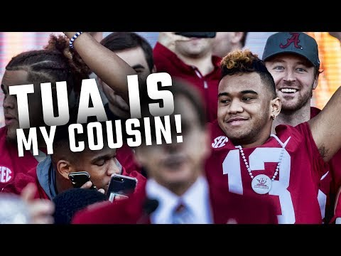 Hawaii has gone Alabama crazy, and everyone is Tua Tagovailoa's cousin