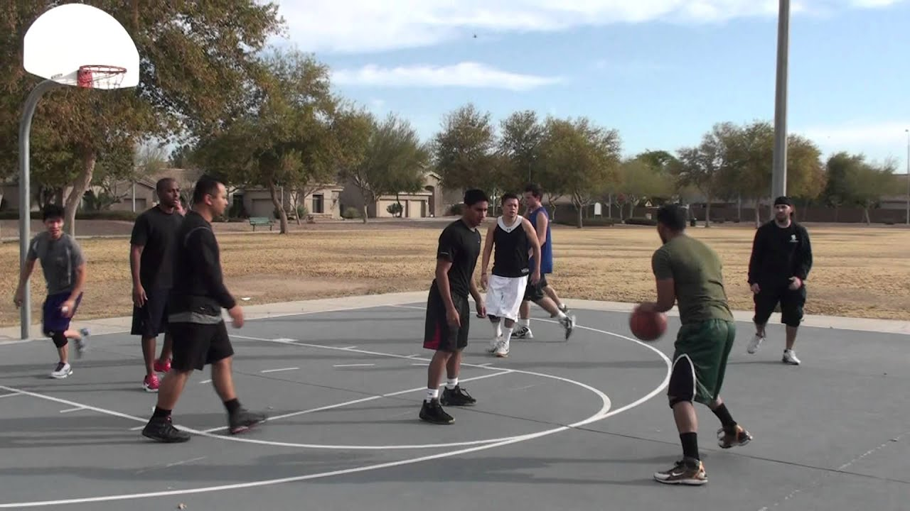 01/22/12 Game 4 Park Outside Basketball - YouTube