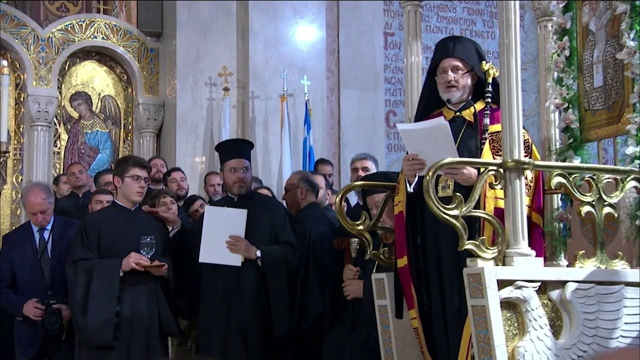 New leader of American Greek Orthodox church visits Jacksonville