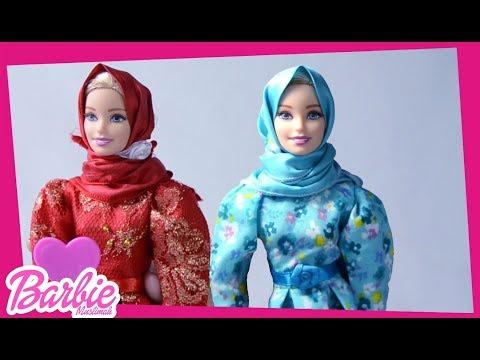 Barbie Muslimah : Gaun Biru Atau Merah ?   Kompilasi   Barbe Muslimah Channel