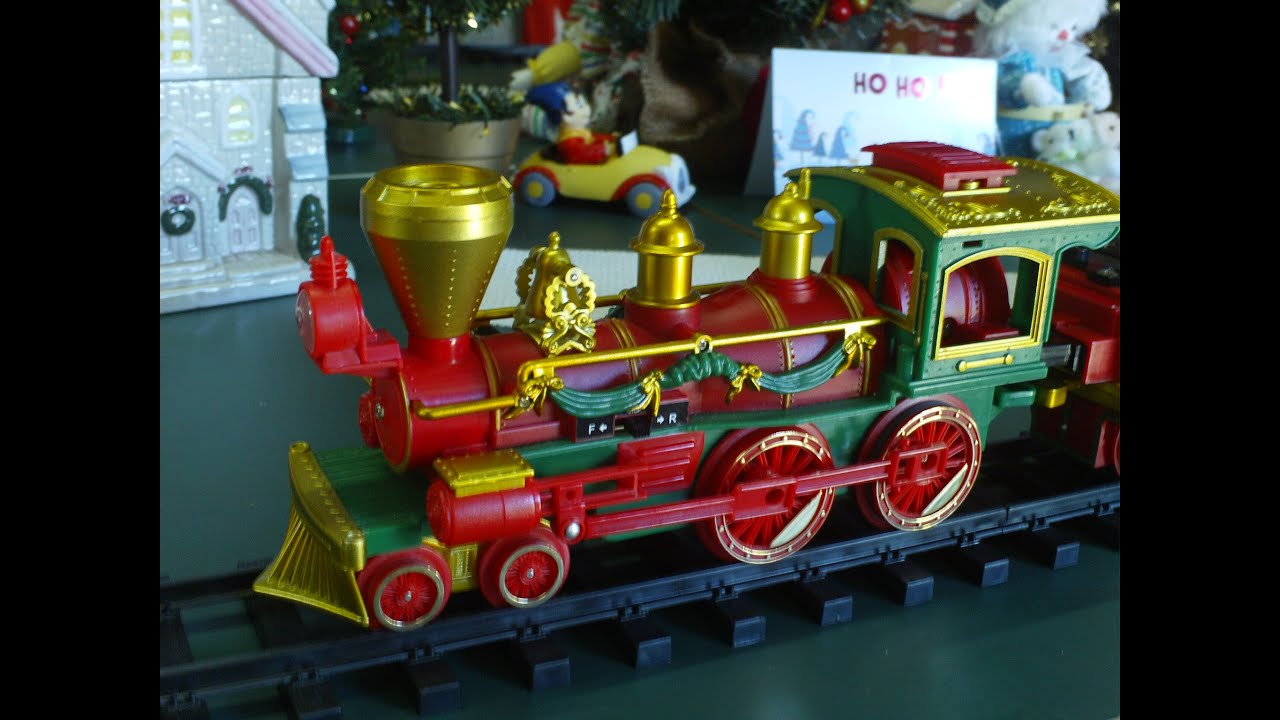 Video For Children Toy Trains Santa S Christmas Party