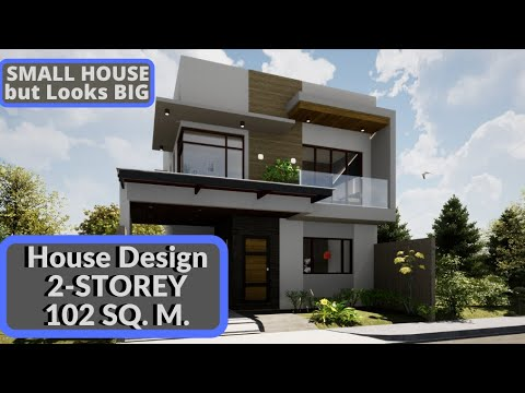 House Design Tour 2 Storey 3 Bedrooms Modern Elegant 2 Youtube