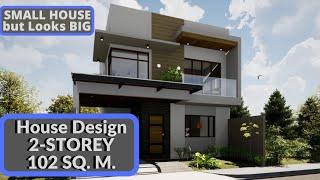 House Design Tour 2-storey 3 Bedrooms Modern  Elegant 2
