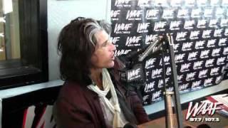 Joe Perry Talks About Steven Tyler