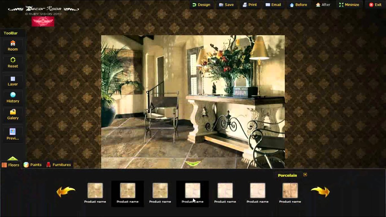 Decor Room Design My Room Interactive Tools make it easy YouTube