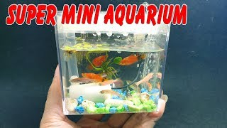 How to make Super Mini Aquarium using Gopro Hero7 Box