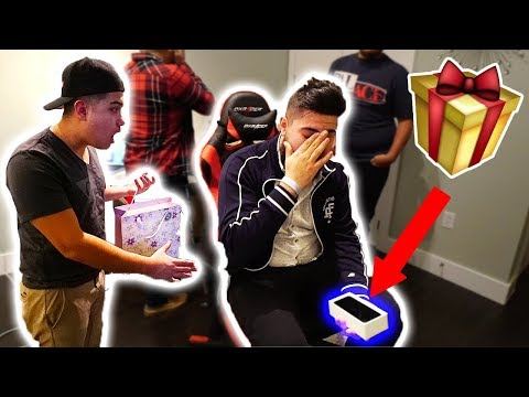 Download Youtube: GIVING MY BEST FRIEND A FAKE IPHONE X FOR HIS BIRTHDAY!! GONE HORRIBLY WRONG!!