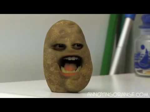 Annoying Orange Muddy Buddy 烦人的橘子-马铃薯兄- YouTube