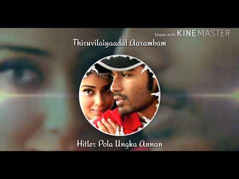 Hitler Pola Ungka Annan # Thiruvilaiyaadal Aarambam // Whats App Status Video