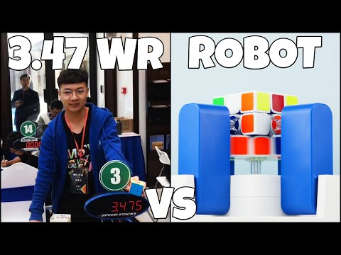 GAN Robot 2.0 Vs YuSheng Du's 3.47 3x3 WR Single!