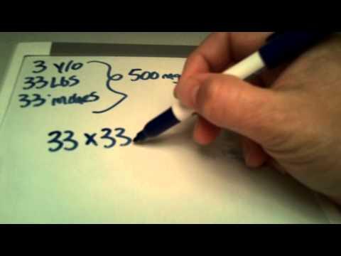 Body Surface Area Formula