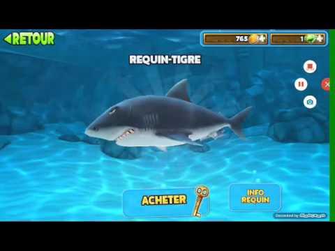 Vid o sur le jeu de requin youtube - Dessin requin marteau ...