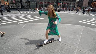 SHE STOLE MY SKATEBOARD!