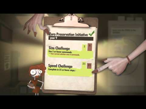 Programming an office worker in Human Resource Machine