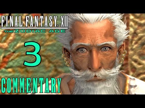 Final Fantasy XII The Zodiac Age Walkthrough Part 3 - Old Man Dalan & The Sunstone PS4 Gameplay