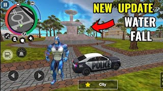 new biggest water fall   new update version 6.0.3 in rope hero vice town    classic gamerz