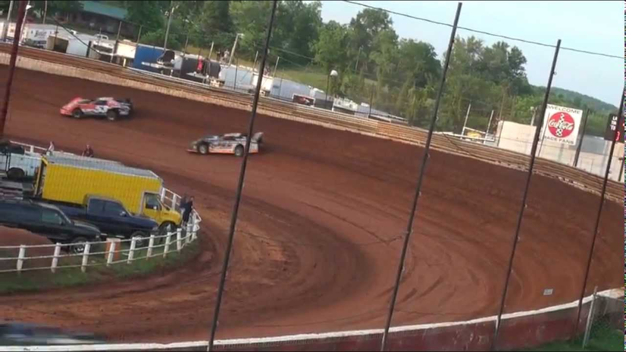 Lucas Oil Late Models Hot Laps Group 1 At Tazewell Speedway 060312