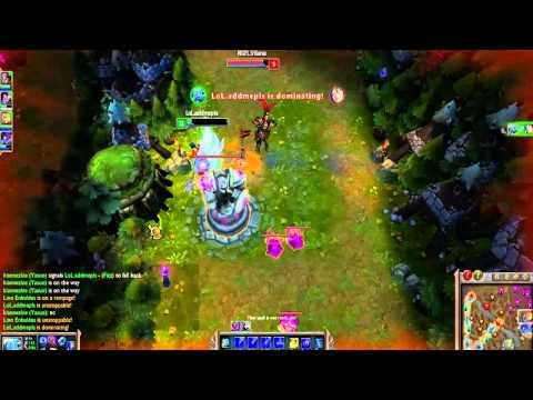 League of Legends PH Fizz vs Ahri Mid Gameplay