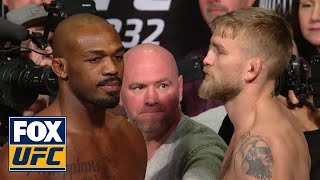 Jon Jones vs Alexander Gustafsson | WEIGH-INS | UFC 232