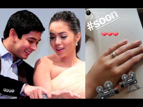 Big Reveal! Julia Montes at Coco Martin Engagement